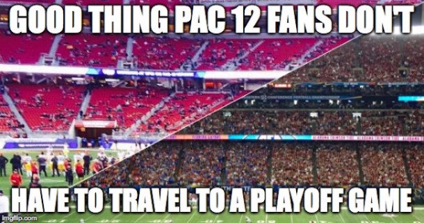 Pac 12 Fans Travel MEME