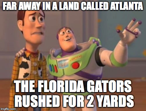 TS Gators Two Yards MEME