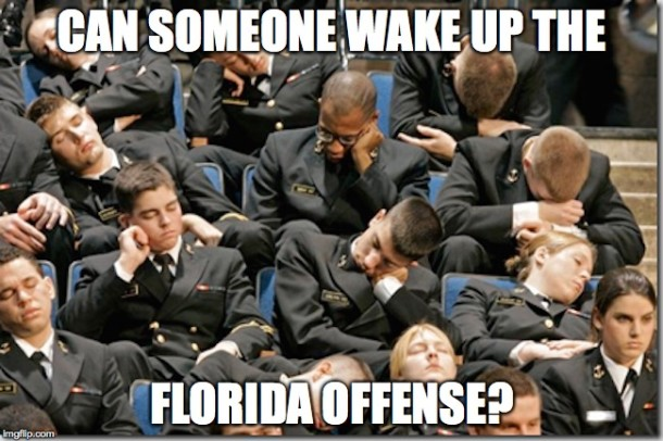 Wake Up UF Offense MEME