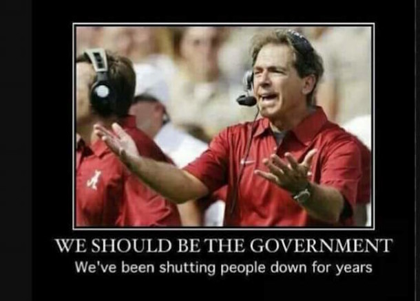 Bama Should Be Government MEME
