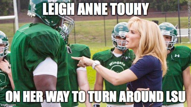 Blindside LSU MEME
