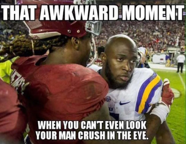Fournette Man Crush MEME