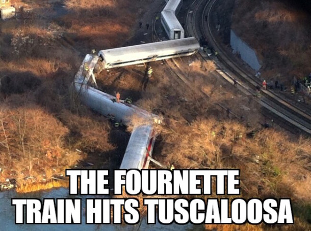 Fournette Train TTown MEME