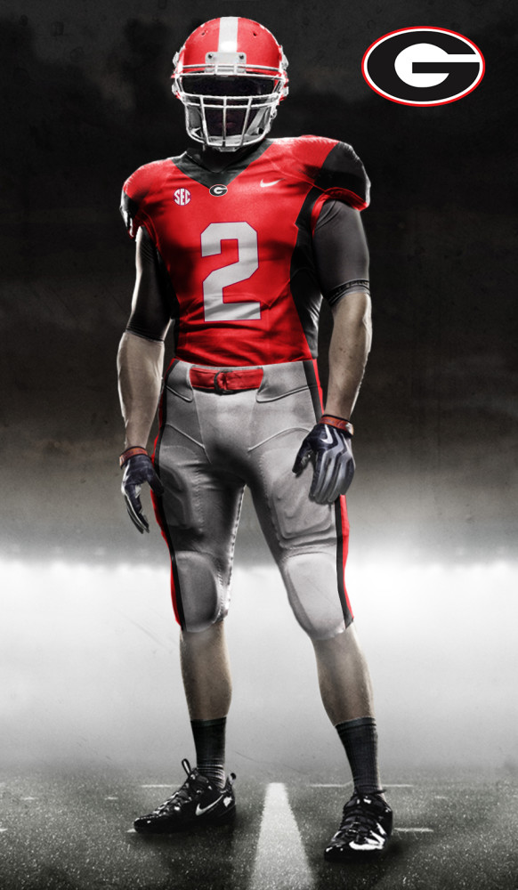 best service 87154 7ee4b Original uniform concepts for the Georgia Bulldogs