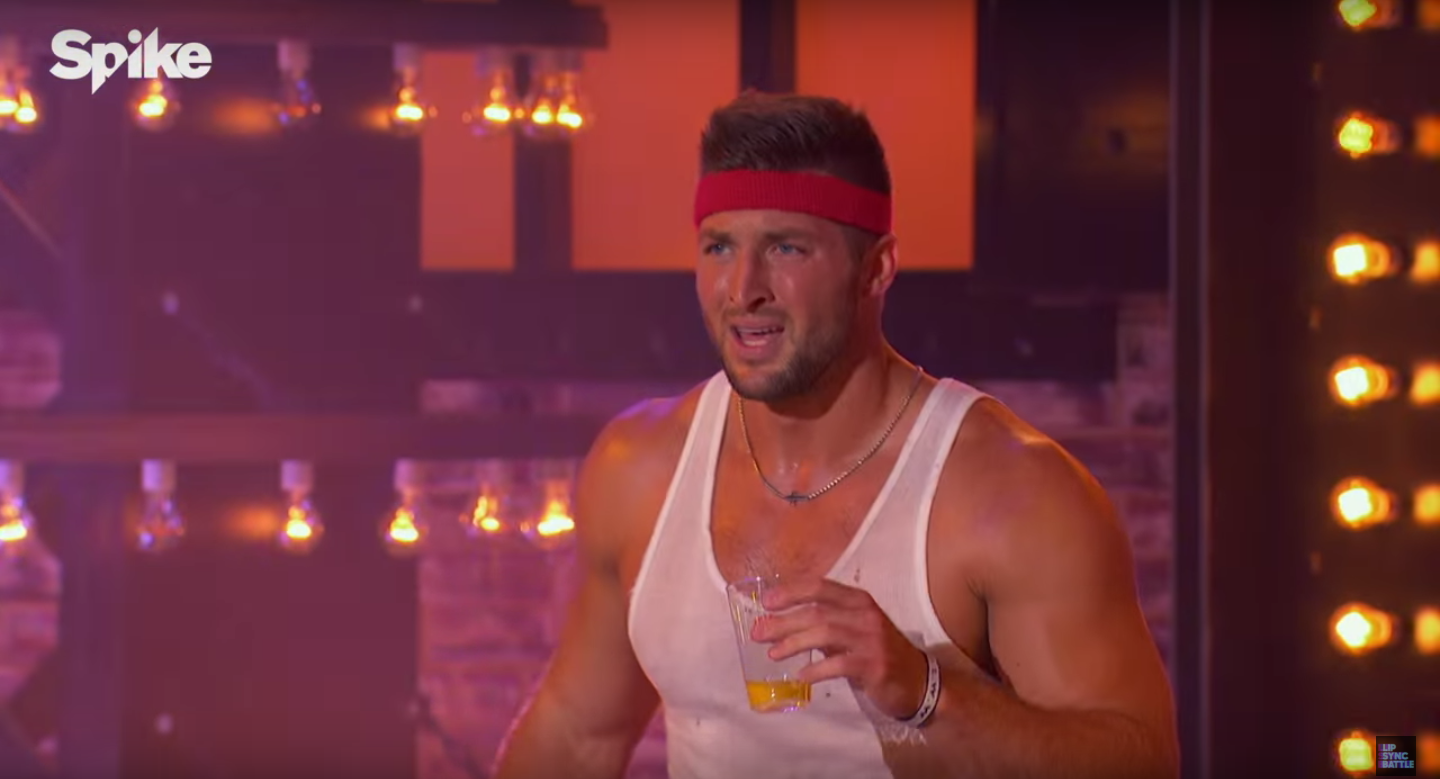 Video Tim Tebow Performs Eye Of The Tiger In Lip Sync