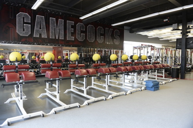 Gamecocks Weight Room 2