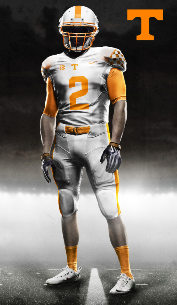 big sale c85b4 451cc Original concept uniforms for the Tennessee Volunteers