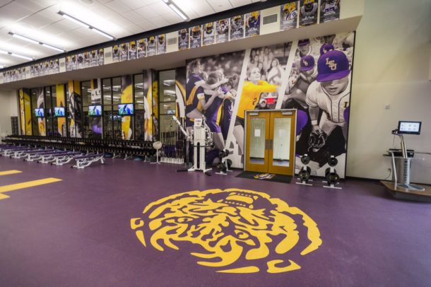 Photos Lsu Shows Off Its New 2 5 Million Weight Room