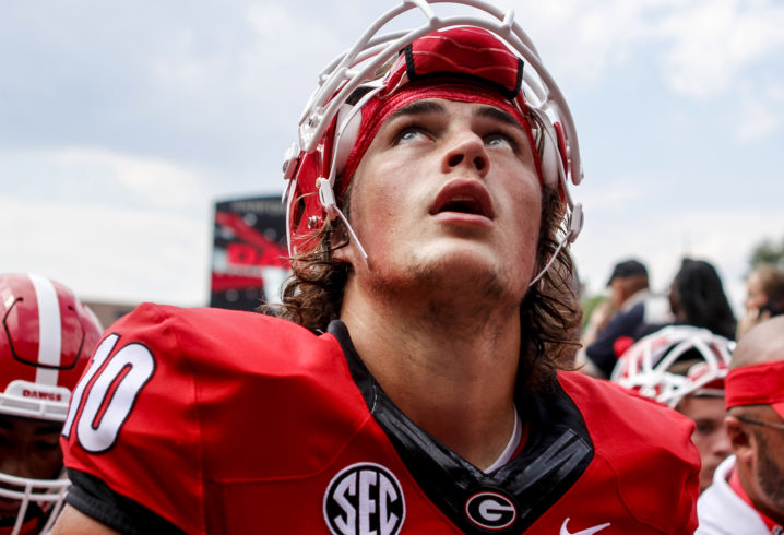 Fromm lifts No. 15 Georgia over Appalachian State