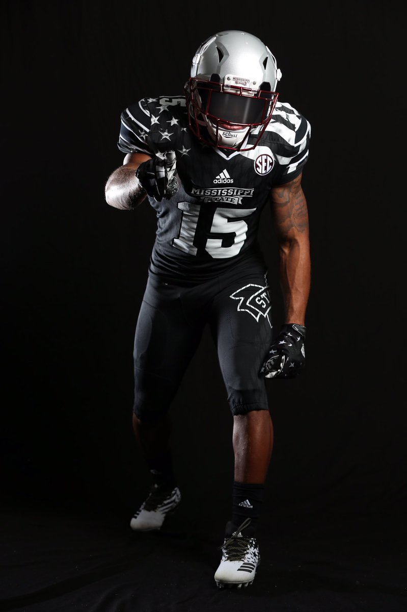 reputable site 5bb65 188b6 Photos: Mississippi State unveils awesome patriotic uniforms ...
