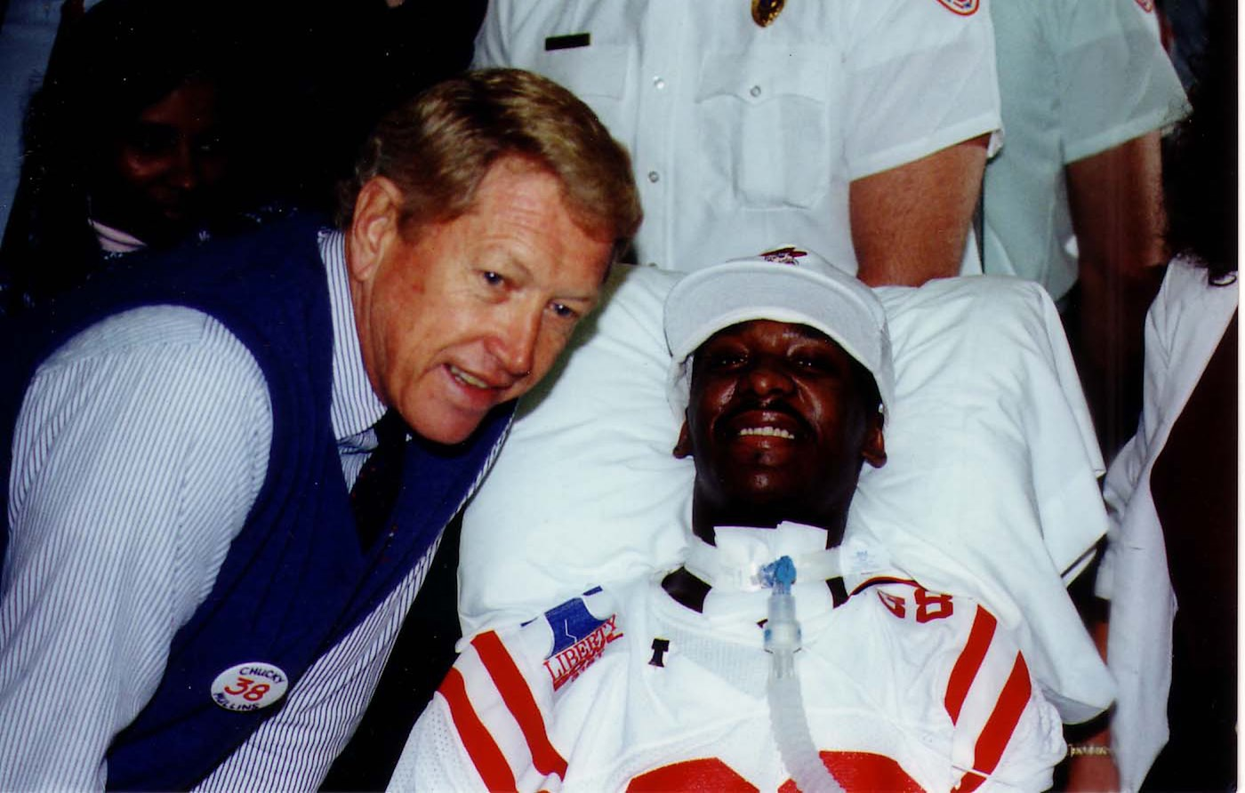 Billy Brewer and Chucky Mullins