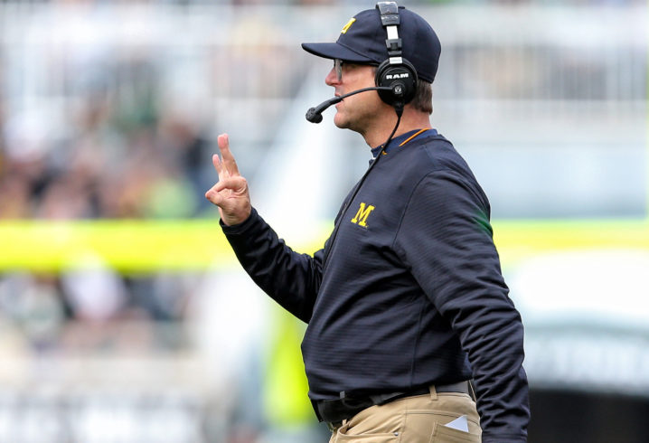 Jim Harbaugh fires back at Brandon Jacobs with bible verse