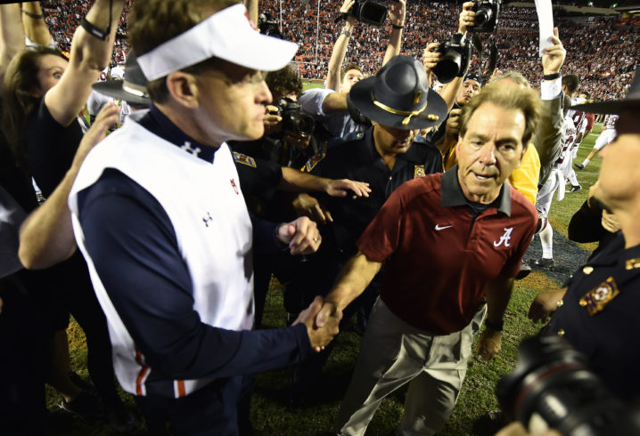 Alabama is dominant, but Nick Saban still wants more