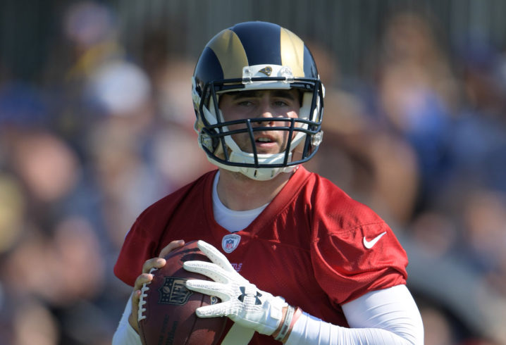 Rams sign quarterback Dylan Thompson, who was also on roster a year ago