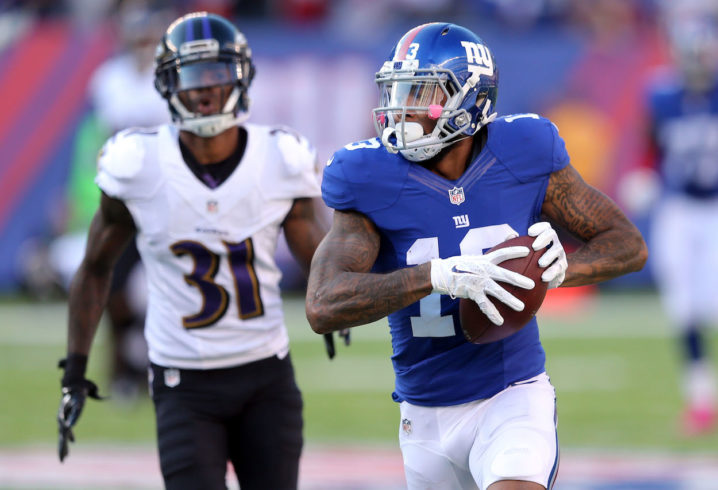 Odell Beckham and Olivier Vernon miss Giants OTAs