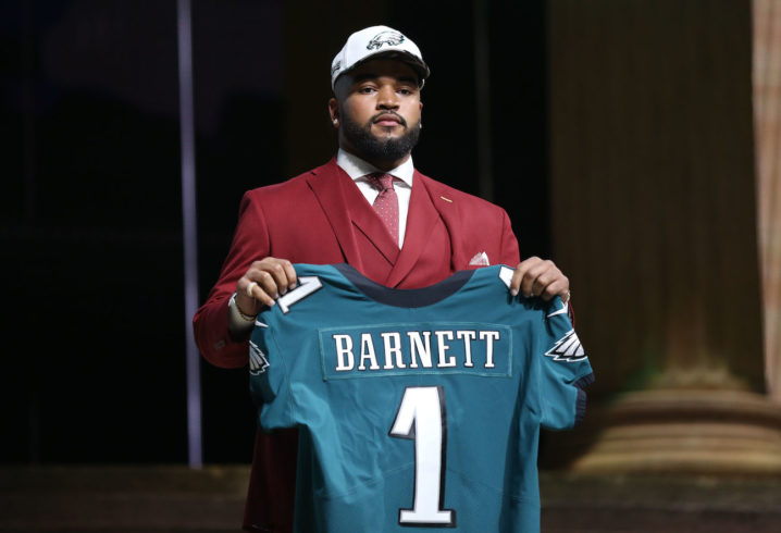 Eagles, first-round pick Derek Barnett agree on 4-year deal