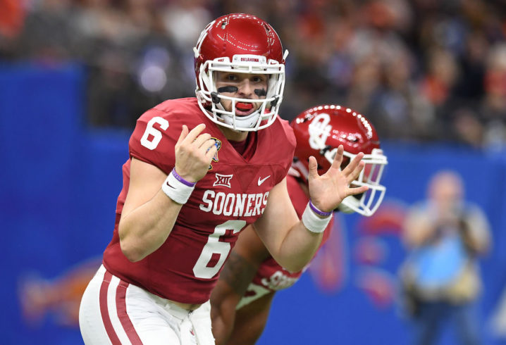 Oklahoma QB Baker Mayfield fined by Fayetteville court after February arrest