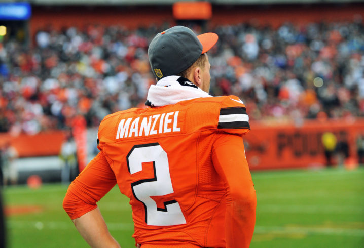 Former Browns bust Johnny Manziel still hoping for return to the NFL