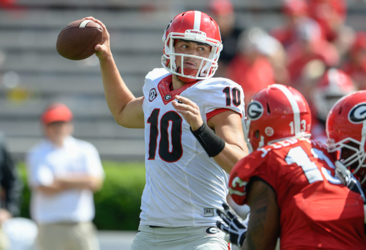 Georgia's Kirby Smart: 'Jacob Eason Is Our Starter Going Into The Season'