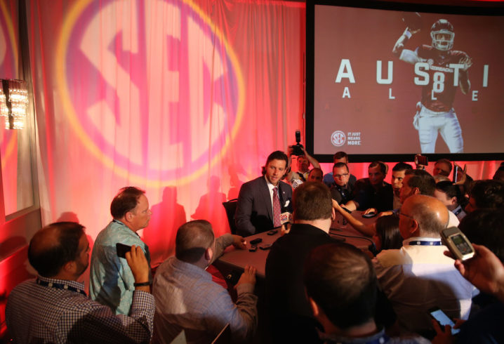 SEC Media Days: Bielema talks quarterbacks, being a father