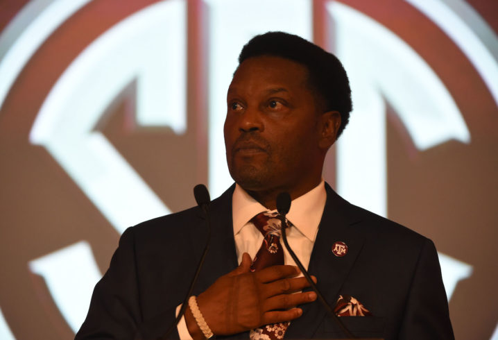 Kevin Sumlin agrees job with Aggies could be on line in 2017