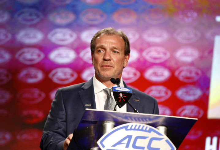 Fisher says ACC is second to none in college football