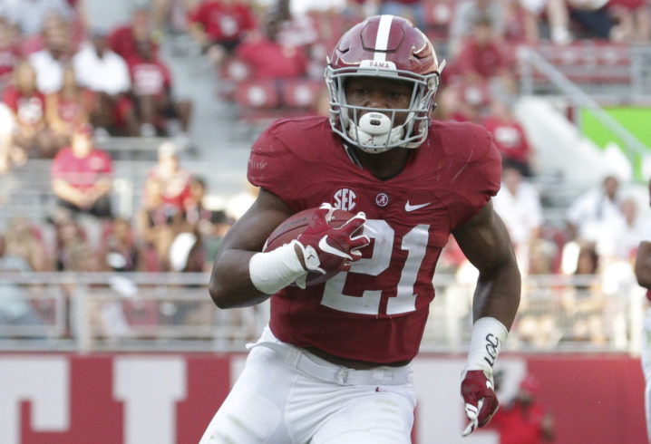 Alabama running back transferring