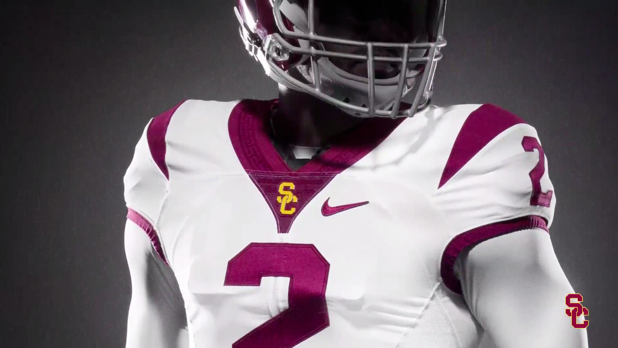 b762369413ab Photos: Southern Cal unveils new Nike uniforms for Alabama game