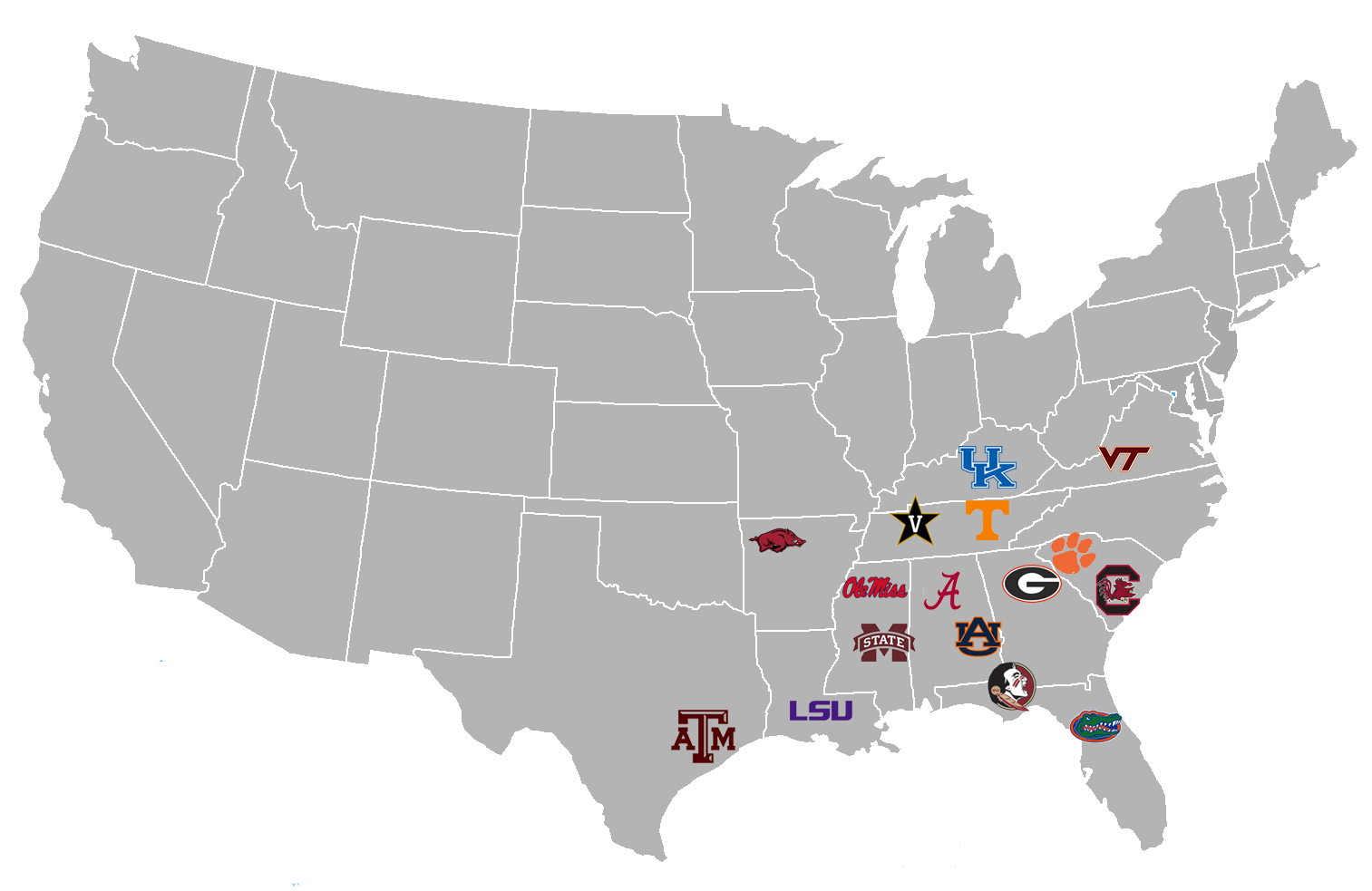 Redoing Realignment: The SEC, Big Ten and Pac-12 form 3 ...