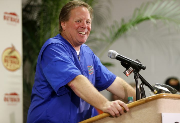 Jim McElwain Promises To Beat 'The Heck Out Of' Michigan