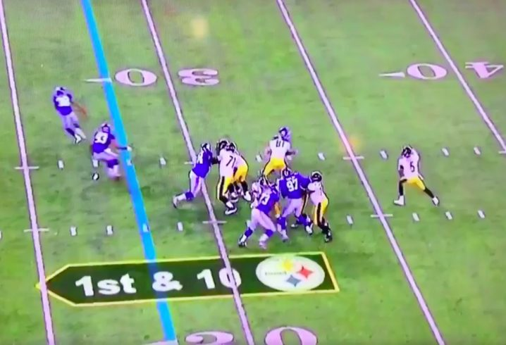 Josh Dobbs fires first National Football League  touchdown pass to Cobi Hamilton