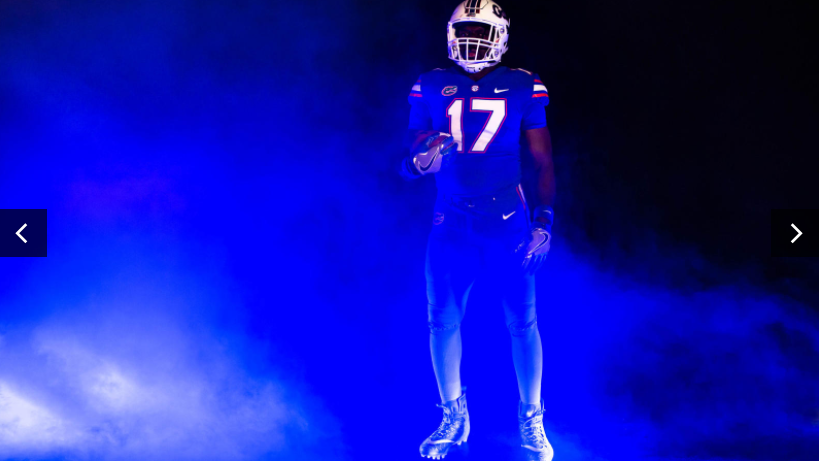 the best attitude f3af6 031f4 PHOTOS: Florida, Michigan unveil new Nike uniforms for ...