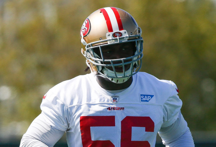 Reuben Foster to start for Niners