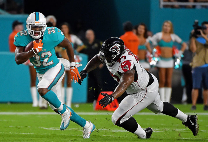 Kenyan Drake knocked out of Miami Dolphins practice