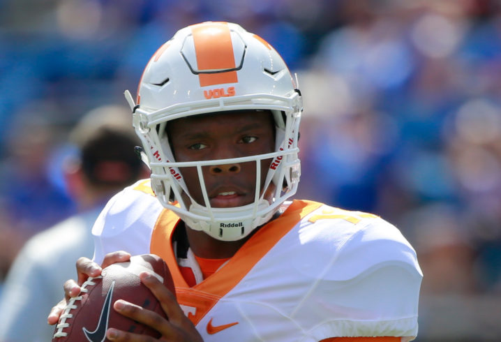 VOLQUEST: Guarantano set to start against SC