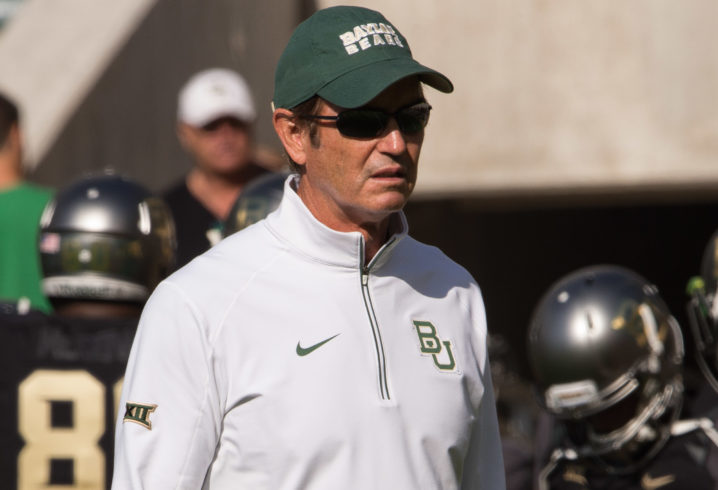 Former Baylor Coach Art Briles Lands CFL Gig