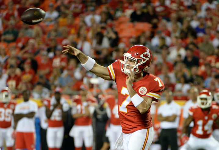 Does Aaron Murray have an option to continue his National Football League career?