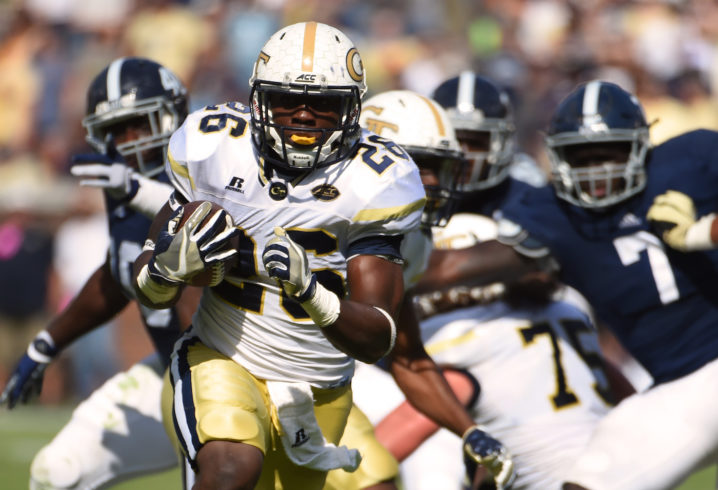 Georgia Tech dismisses 2016 leading rusher Dedrick Mills, its best player