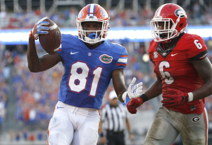 Antonio Callaway, Jordan Scarlett among nine Gators players facing felony fraud charges