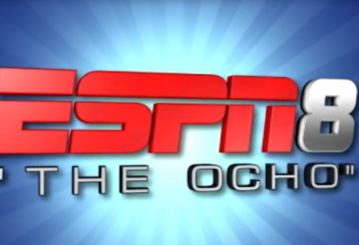 ESPNU to become ESPN8 'The Ocho' on August 8