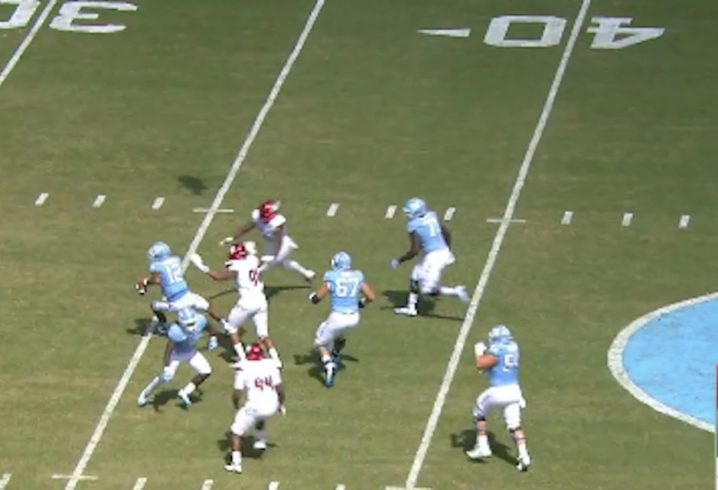 Tar Heels defenseless in loss to Cards