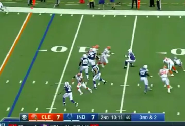Cleveland Browns vs Indianapolis Colts