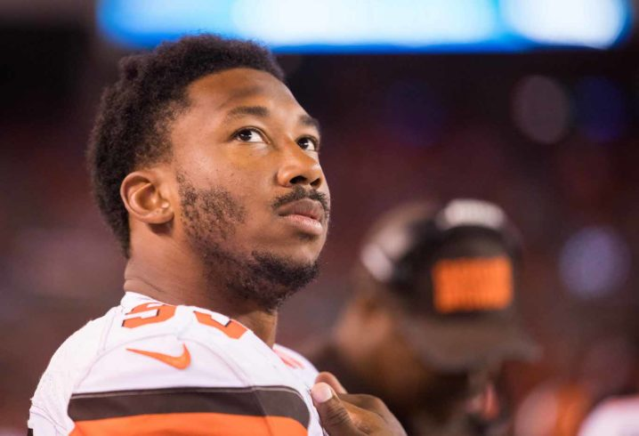 Browns rookie could miss weeks with ankle injury