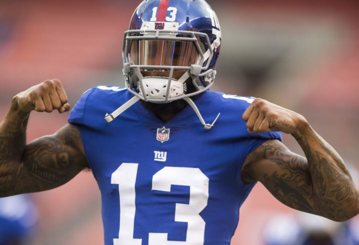 Odell Beckham Jr. is 50-50 for Giants opener vs