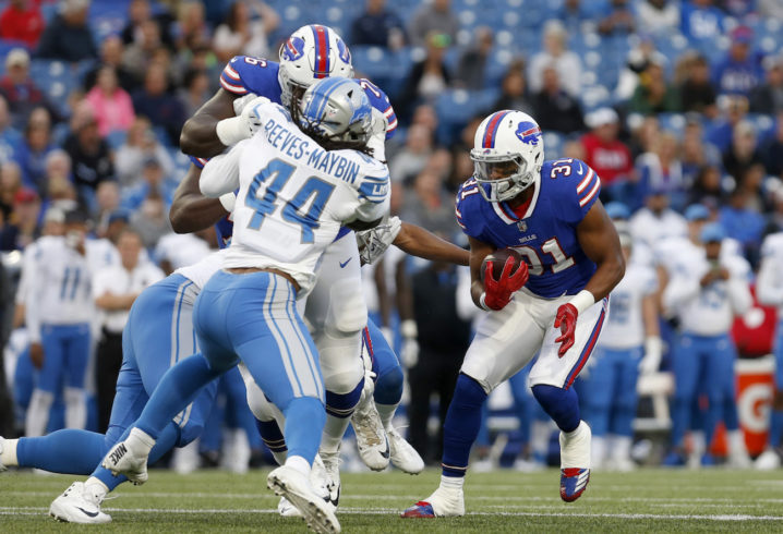 Bills surprisingly release running back Jonathan Williams, report says