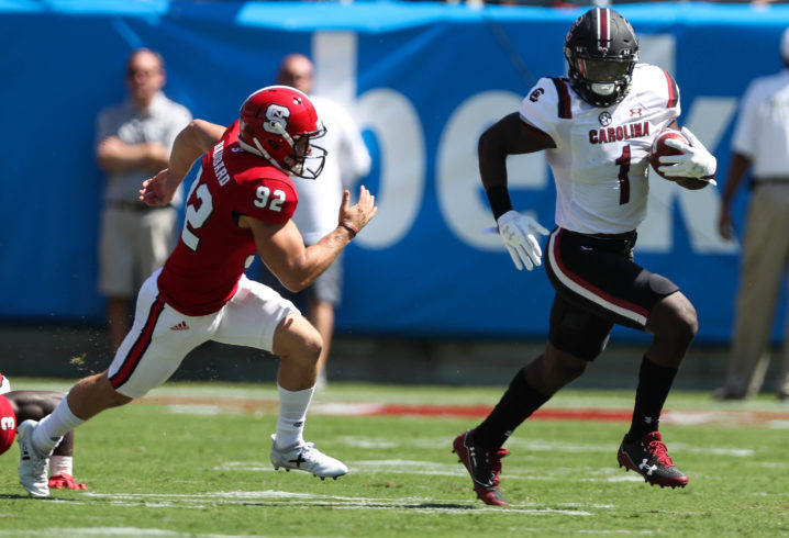 Watch South Carolina open season with 97-yard kick return