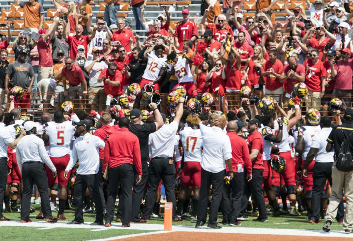 Maryland beat Texas! Here are the 12 weirdest things about this game
