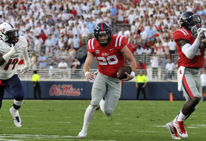 Former Ole Miss QB Shea Patterson plans to transfer to MI