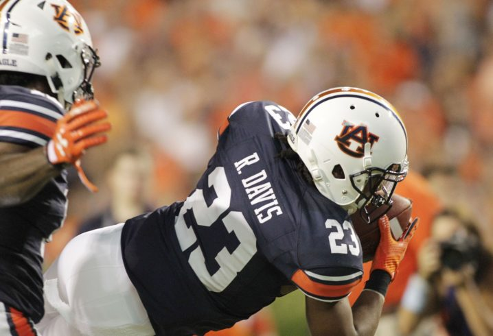 Auburn backup QB arrested on public intoxication charge