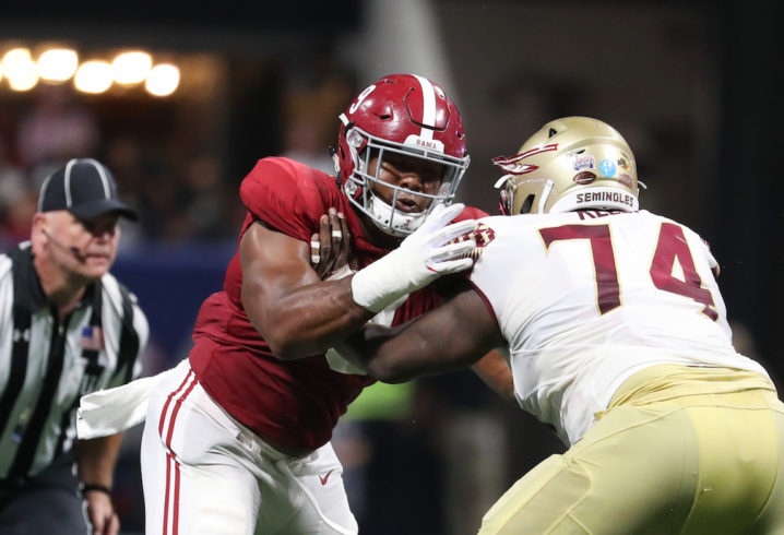 Alabama Football Players Are Taunting Another College Football Program